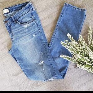 Abercrombie and Fitch Straight leg distressed